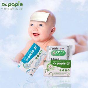 Khăn Lau Hạ Sốt Dr.Papie +